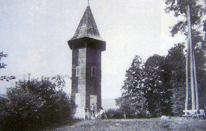 Aussichtsturm Walterskirchen ca. 1930