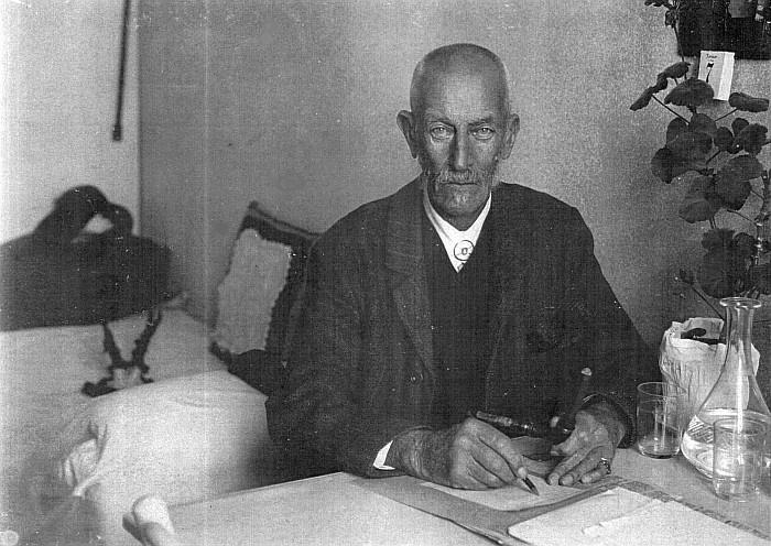 Baron Robert von Walterskirchen ca. 1910-20