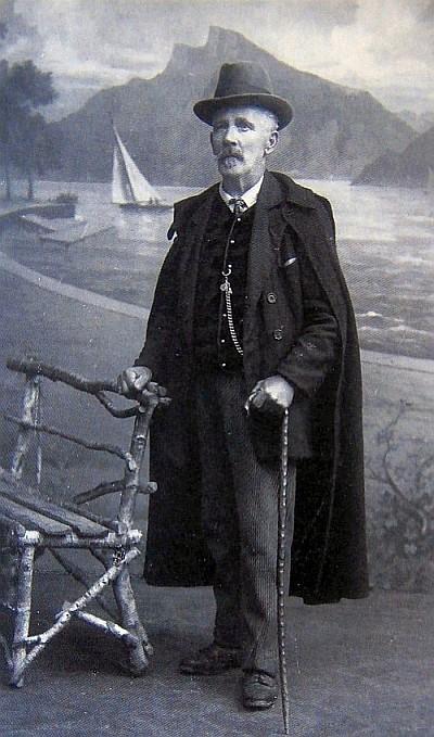 Baron Robert Wilhelm von Walterskirchen ca. 1905