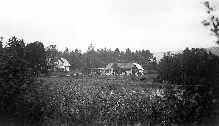 Wohn- und Wirtschaftsgebäude Gut Walterskirchen 1937