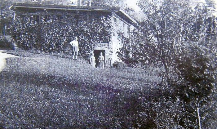 Walterskirchen Seeterrasse ca. 1930
