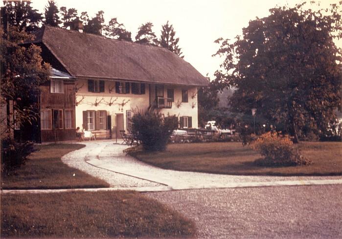 Wirtschaftsgebäude Gut Walterskirchen 1966