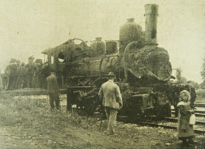 Die Lokomotive des Klagenfurter Zuges (Foto: Kärntner Tagblatt)